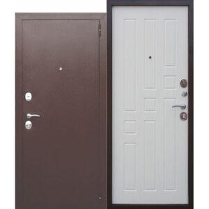 Дверь мет. Гарда Белый Ясень/Дуб Сонома (960х2050)