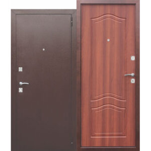 Дверь мет. Dominanta Рустикальный дуб (860х2050)