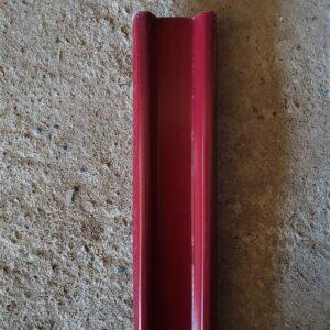 Штакетник Винно-красный метал. (высота 1,25м)