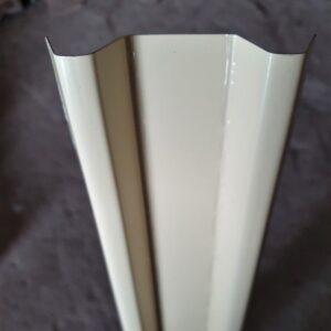Штакетник Слоновая кость метал. (высота 1,25м)