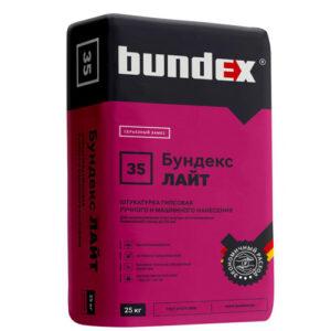Гипсовая штукатурка Бундекс Лайт (25 кг)