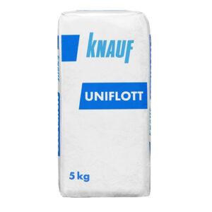 Шпатлевка гипсовая Унифлотт Кнауф (5 кг)