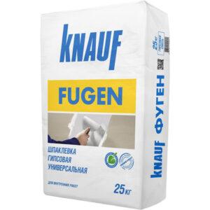 Шпатлевка гипсовая Фуген Кнауф (25 кг)