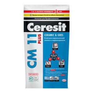 Клей для плитки CERESIT CM 11 PLUS (5кг)