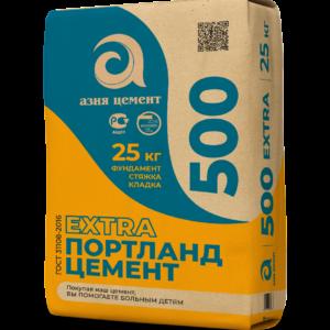 Цемент Extra 500 (г. Пенза) (25 кг)