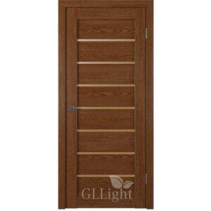 Дверь GLLight 24 дуб корица бронза сатин