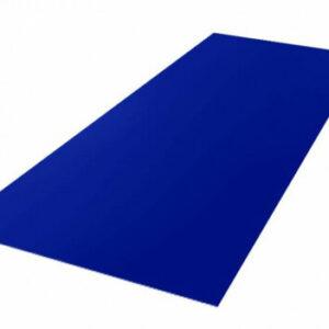 Лист плоский Ультрамарин (1,25×2,0 м)
