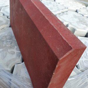Поребрик (Бордюр) красный (0,5 м)