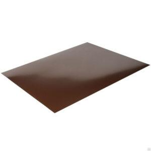 Лист плоский Шоколадно-коричневый (1,25×2,0 м)